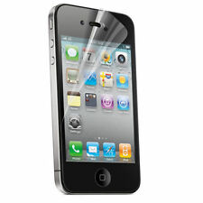 10 X Transparente Anti Scratch LCD pantalla protector Protector Apple Iphone 4/4s Super Delgada