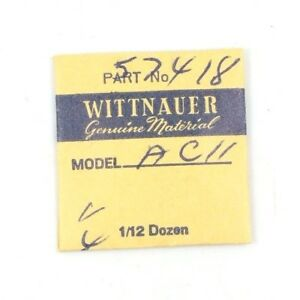 New Old Stock Rare Wittnauer Ac11 3 Ratchet Wheel Screws Watch Part #57418 Aromatic Flavor Watches, Parts & Accessories