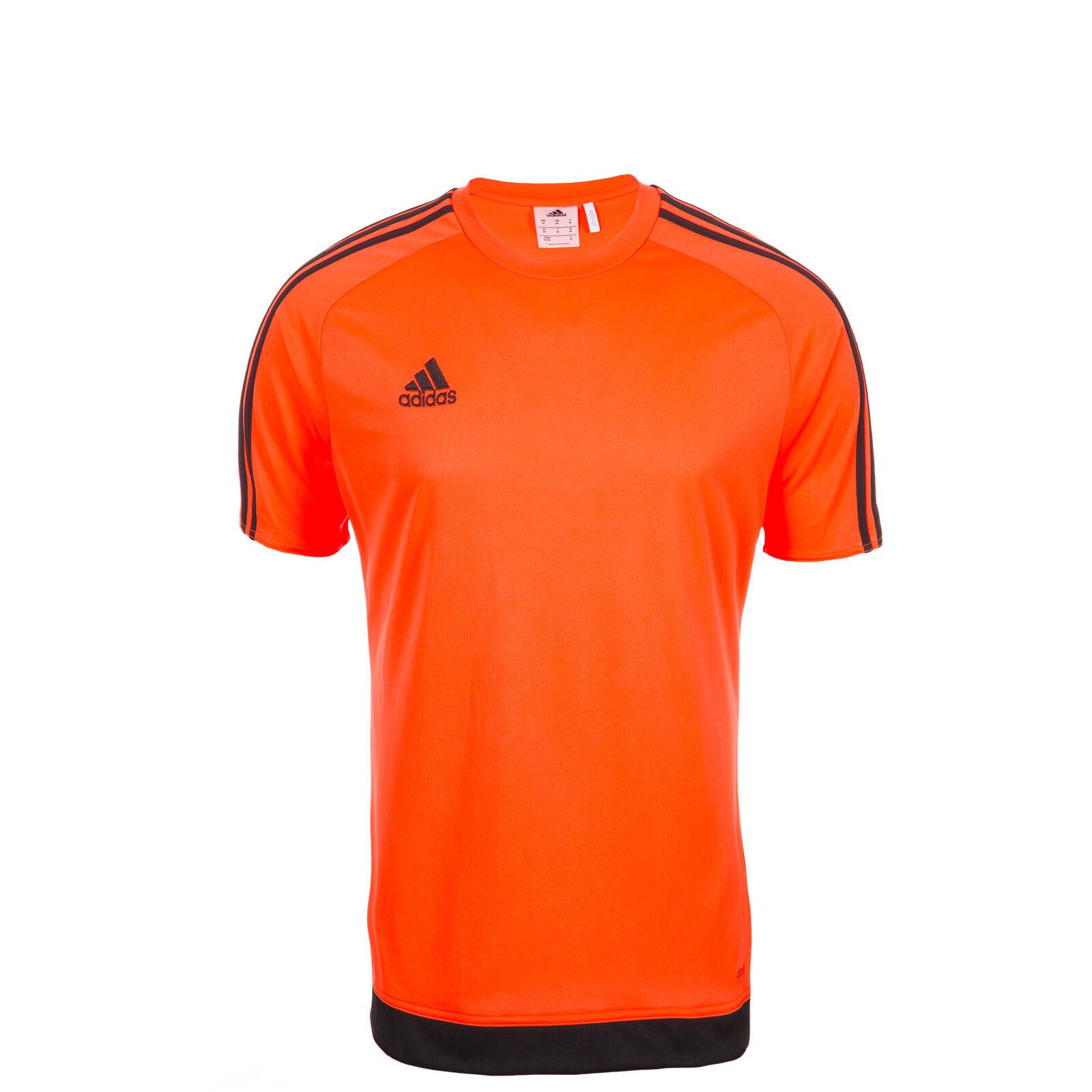 adidas Trikot Estro 15 Kurzarm Kids Orange schwarz 140