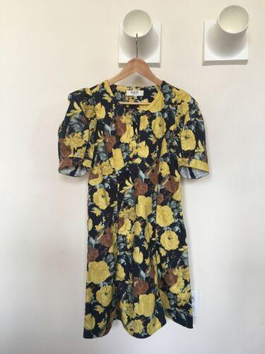 Sea Floral Cotton Dress | 6