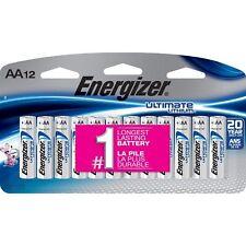 Energizer L91SBP12 Lithium AA Batteries - 12 Pieces