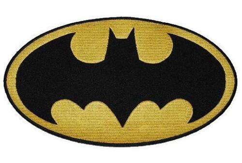 11,4 cm-Écusson Application//Bügelbild-Super-héros com XXL-Batman 20,4 cm