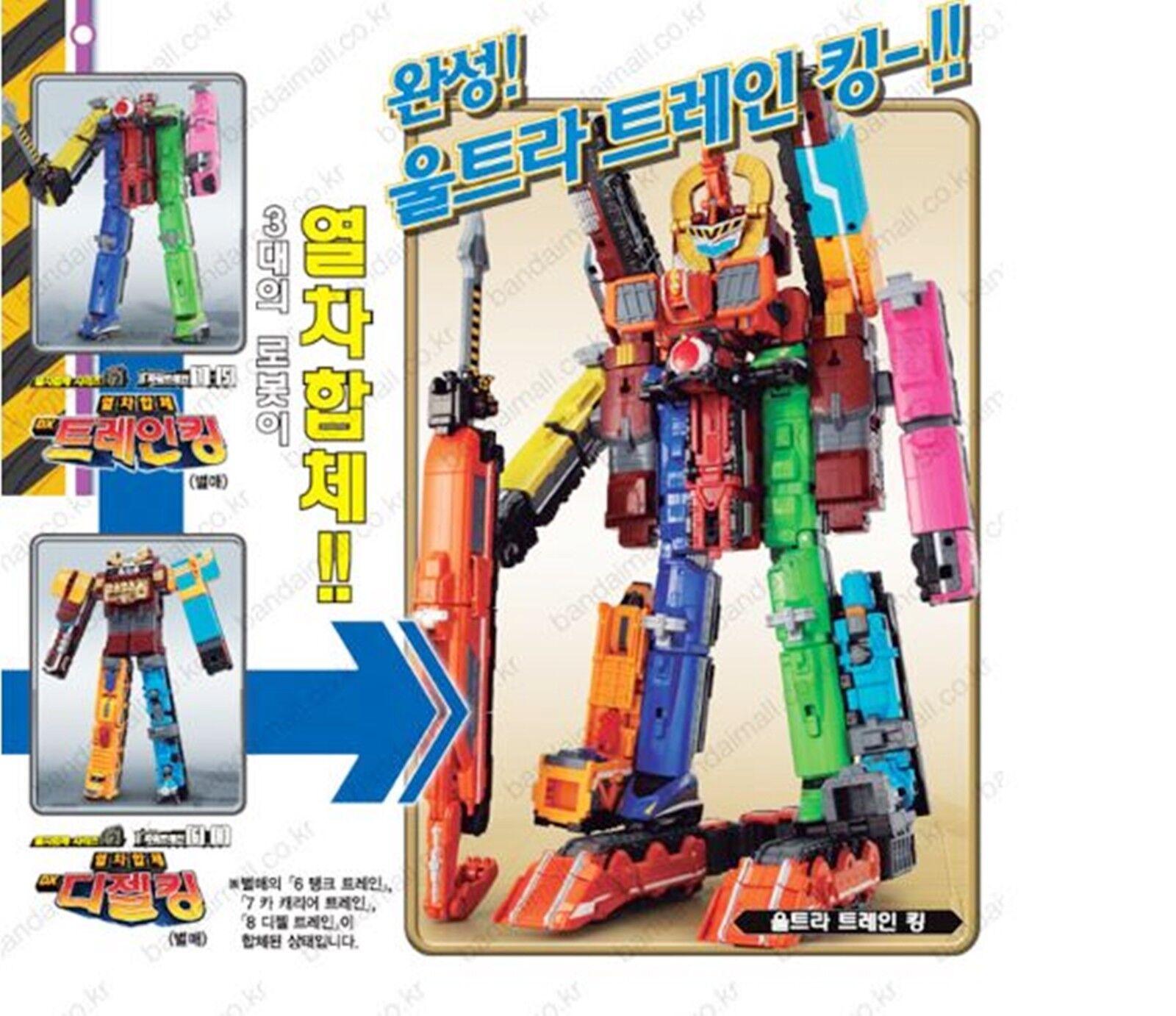 Bandai Power Rangers ToQger Ressha Gattai Gattai Gattai Build Dai Oh Dai-O DaiOh DX Crane King 2e849b