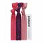 Popband Pop Band Essentials Ponytail Holders cheveux bandes Pack de 3 couleurs diverses