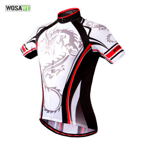 Mens Road Bike Cycling Jersey Shorts Set Team Clothing Short Sleeve Outfits Suit