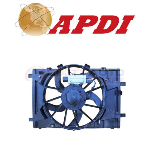 APDI Cooling Radiator Fan Assembly for 2010-2012 Ford Fusion 2.5L 3.0L L4 V6 nm