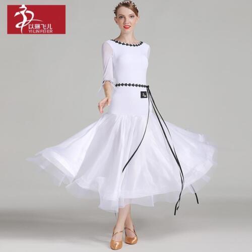 2017 NEW Latin Ballroom Dance Dress Salsa Modern Waltz Tango Dress #S7006