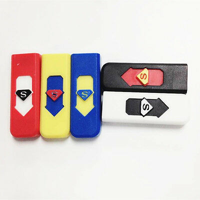 USB Electronic Lighter Tobacco Cigarette Cigar Rechargeable Flameless Windproof