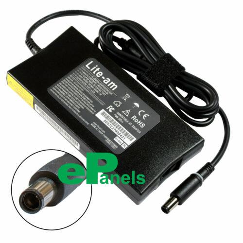 Dell 90 W 19.5 V 4.62 A 7.4*5.0 centro pasador compatible con Slim AC adaptador cargador