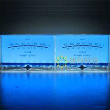 2pcs P 200 Water Blue Vu Meter A Power Amplifier Tube Db Table Audio Power Meter