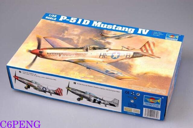 Trumpeter 02275 1/32 P-51D Mustang IV hot