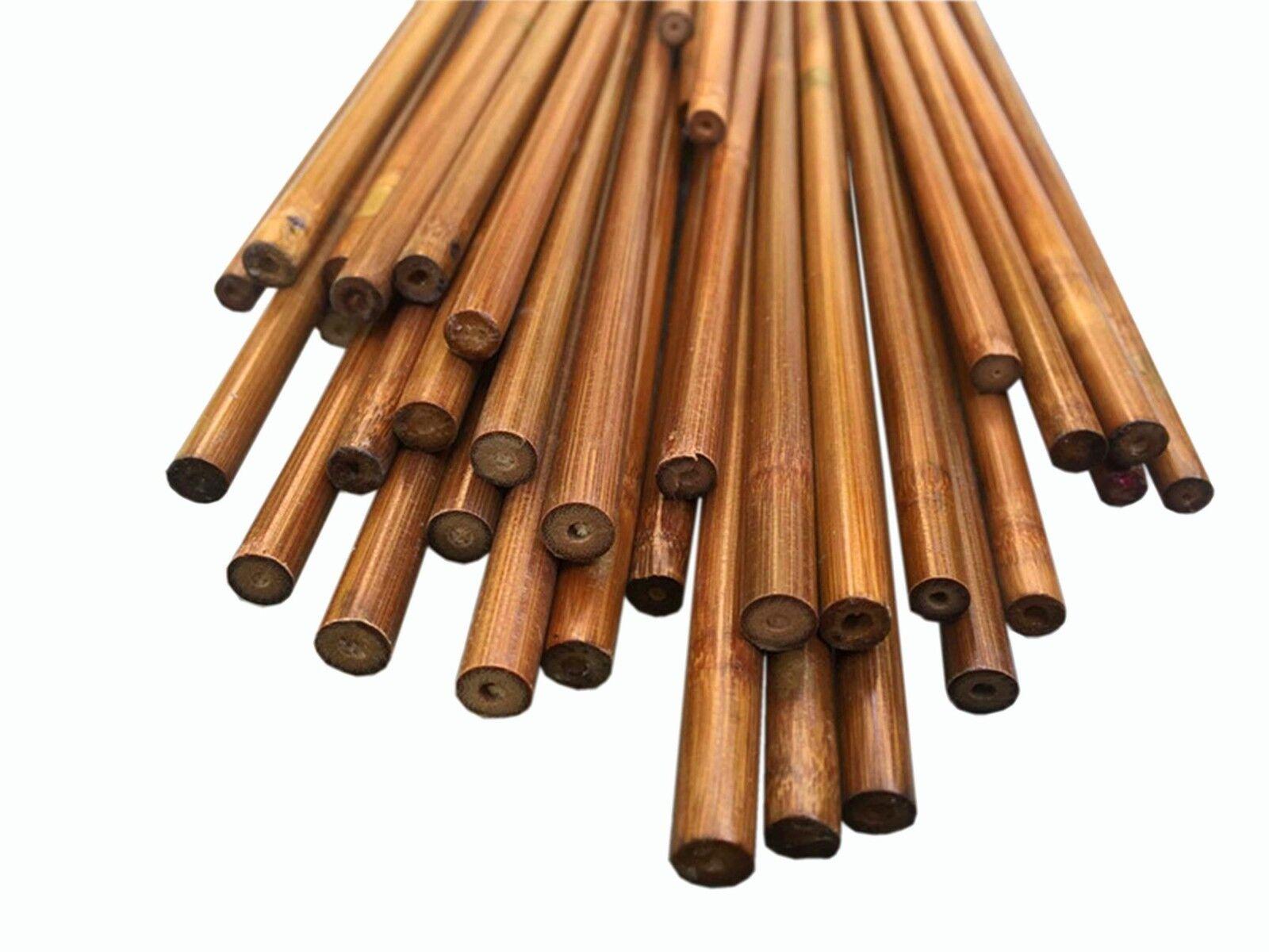 100 un. 39  (100 Cm) 60-65  Eje de bambú de tiro con arco Flecha de bambú tradicionales no Nock