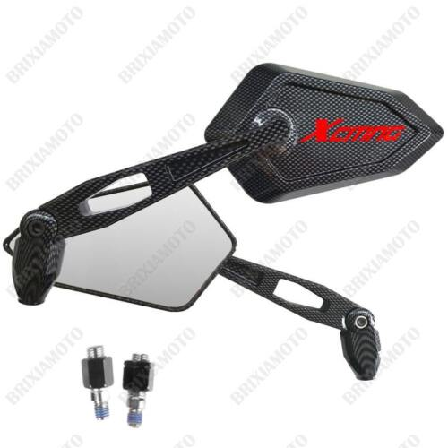 MIRRORS MIRROR STREET CARBON LOOK RED LOGO KYMCO XCITING 125 300 400 500 I R
