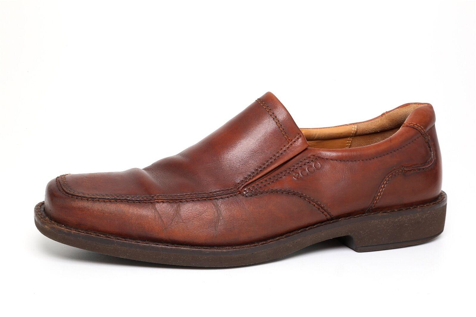 tutti i beni sono speciali ECCO Uomo Marrone Marrone Marrone SAS Diplomat Leather Loafers 5863 Sz 45 EUR  si affrettò a vedere