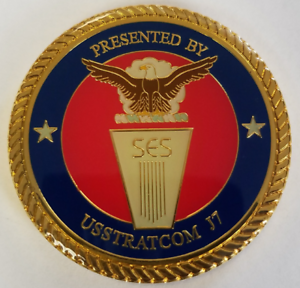 Details about SES Senior Executive Service STRATCOM J7 Joint Exercises &  Training Coin