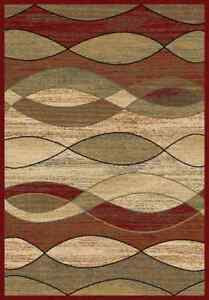 Image Is Loading 8x10 Area Rug Rugs New Modern Abstract Wavy