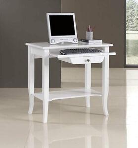 Mobile scrivania scrittoio porta computer ufficio studio ebay - Tavolo computer ikea ...