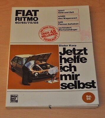 Herrlich Fiat Ritmo 60 65 75 85 Bis September 1982 Handbuch Reparaturanleitung Jhims 96