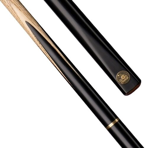 "CANNON TORNADO 34 JOINTED SNOOKER CUE 57"" 9.5mm TIP ASH SHAFT POOL BILLIARDS"