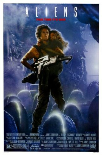 Aliens Movie Poster 24x36