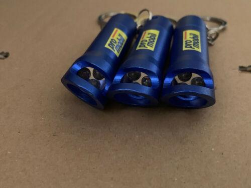 3 Stück Schlüsselanhänger LED Taschenlampe mit  Flaschenöffner