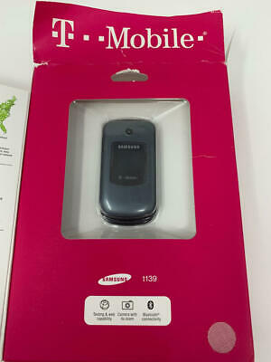 Gray Bluetooth and Speakerphone Samsung T139 T Mobile with Camera ...