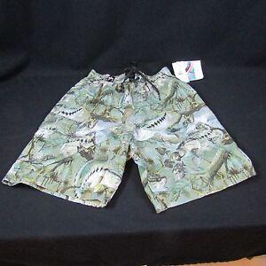 1e25095b52 Bass Camouflage Guy Harvey Men's Swim Suits Trunks Size S Draw ...