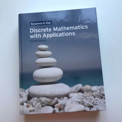 1 of 1 - Discrete Mathematics with Applications 4th Edition by Susanna S. Epp English HC