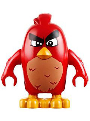 Red 100/% Authentic LEGO MINIFIGURE ANGRY BIRDS MOVIE New Fast Shipping 75824