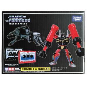 Takara-Transformers-Masterpiece-MP15-Rumble-amp-Jaguar-Cassettes-Action-Figure-Toy