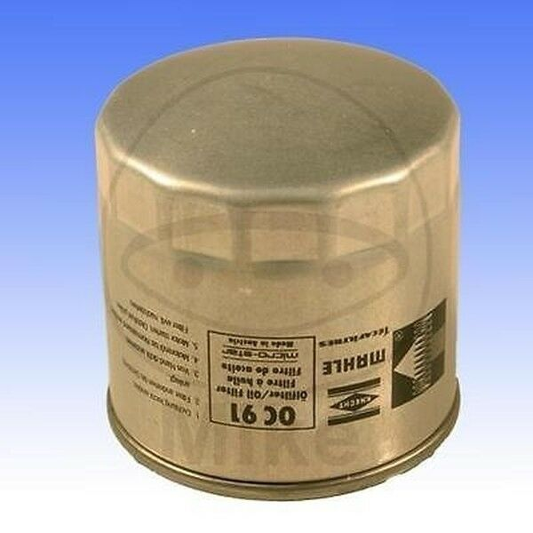 Mahle Oil Filter OC91D fits BMW R 850 C 2000 259C 34/50 HP