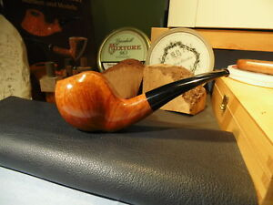 Werner johst handmade-estate PIPA-Smoking Pipe-Pipa-fumo pronto!