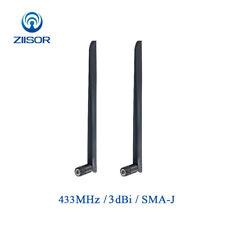 HQ 433MHz Rubber Antenna SMA Connector