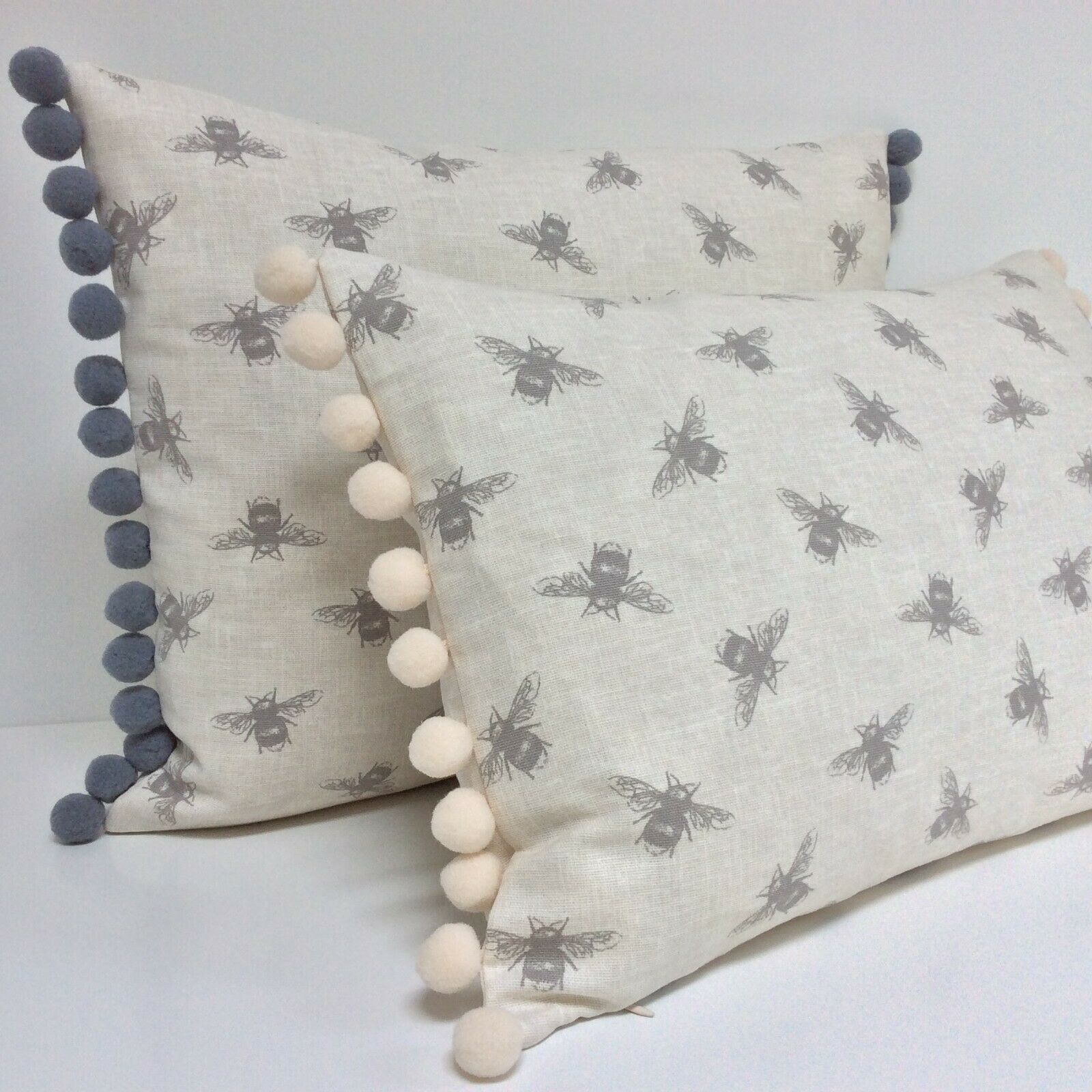 40 x 40 CM Clayre /& Fed Coussin housse taie d/'oreiller gequiltet