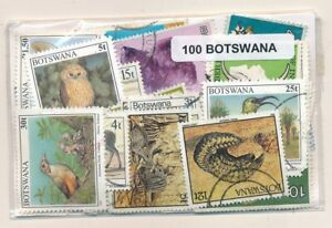 Botswana-US-100-Timbres-Differents