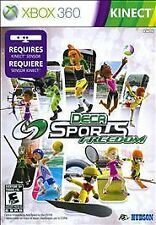 Deca Sports Freedom  --  Microsoft Xbox 360 Game Complete *Guaranteed* Kinect