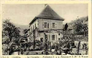 CPA Chambéry- Les Charmelles -Habitation de J.-J. Rousseau et de Mme (352416) 2bV684Bq-09163219-123351095
