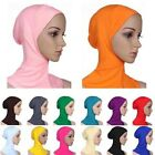 Fashion Cotton Muslim Inner Hijab Caps Islamic Underscarf Hats Ninja Hijab BF