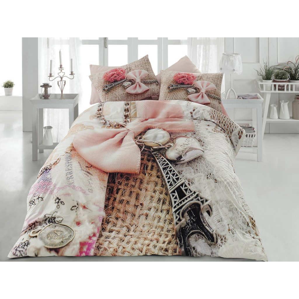 3d duvet cover quilt bedding set set double queen Dimensione paris eifel linda