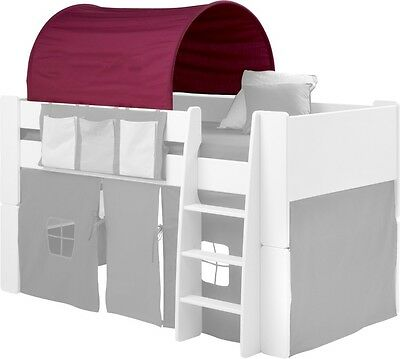 Steens Pine Highsleeper, Midsleeper, Bunk Bed, Bookcase, Desk, Chest, Robe ...