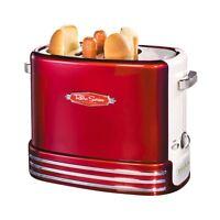 Smart 1950's Style Pop-up Hot Dog Toaster - American Diner Uk Pliug