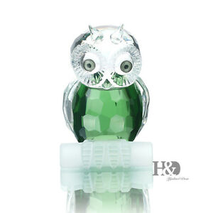 H-amp-D-3D-Crystal-Paperweight-Facet-Owl-Figurines-Glass-Wedding-Collectibles-Gift