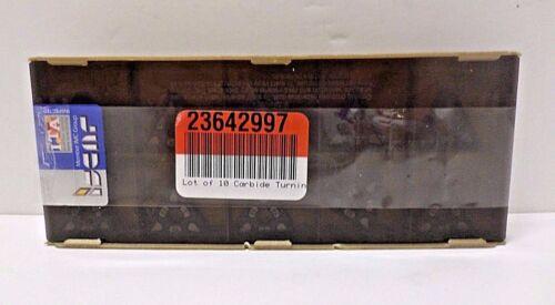 Box of 10 NOS Iscar 5550473 Carbide Turning Inserts TNMG 433-TF IC807 05550473