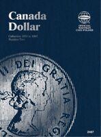 Canada Dollar No. 2 1953-1967, Whitman Coin Folder
