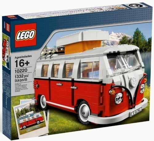 NEW LEGO VOLKSWAGEN T1 CAMPER 10220 VW VAN Creator SEALED Bus