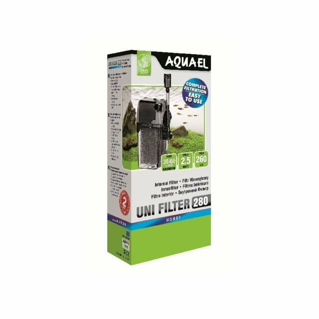 Aquael Unifilter 280 - für 30-60L Aquarien - Innenfilter Wasserfilter Filter
