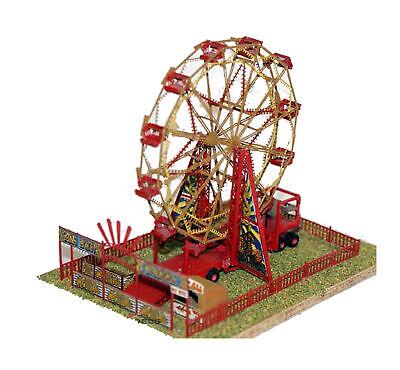 Big Wheel Ferris Wheel Fair Q24 UNPAINTED OO Scale Langley ...