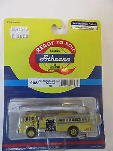 Athearn-1-87-Ford-C-Firetruck-Loescharm-Feuerwehr-USA