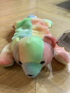 Ty Beanie Baby ~ Sammy the Tie-Dyed Bear 1998~Mint Tags~Plush~Retired 8 inch