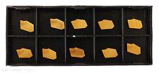 RISHET TOOLS GTR-2 C5 Multi Layer TiN Coated Carbide Cut-Off Inserts (10 PCS)